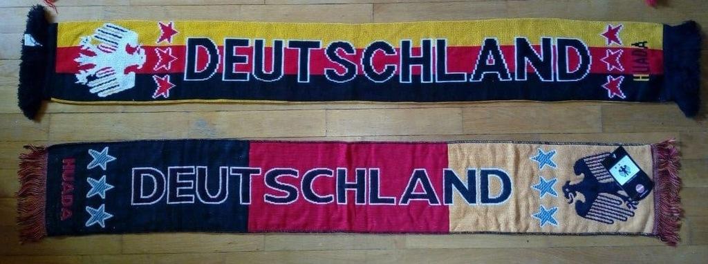2 x szalik Niemcy - Zestaw szalików - Deutschland