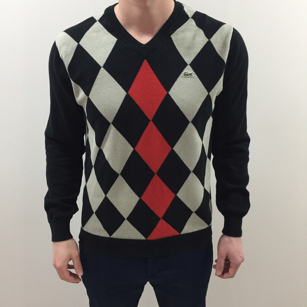 LACOSTE M 4 SWETER