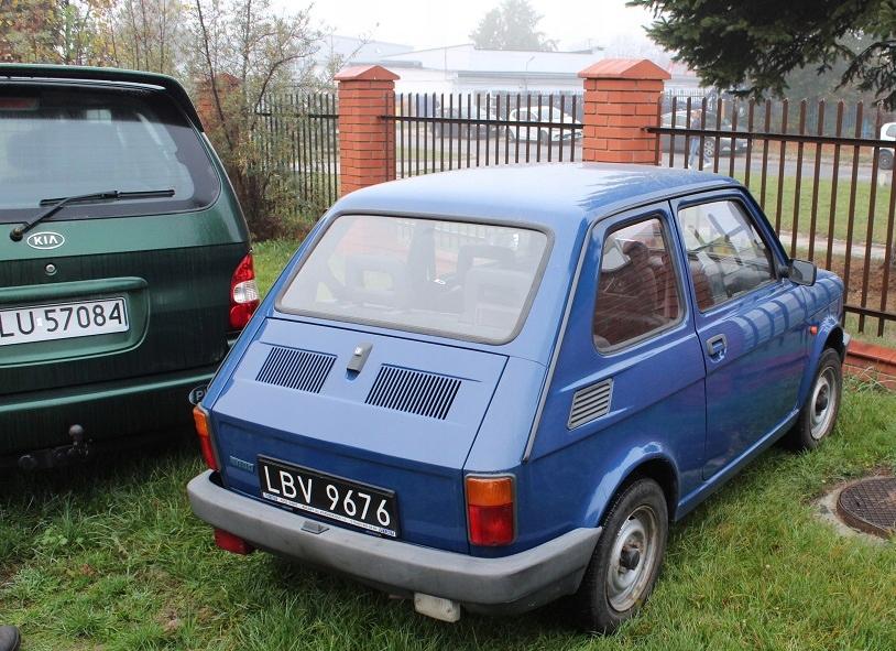Fiat 126p Maluch 650 ELX