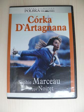 DVD CÓRKA D'ARTAGNANA