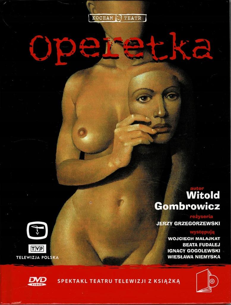 Operetka Gombrowicz Grzegorzewski książka + DVD