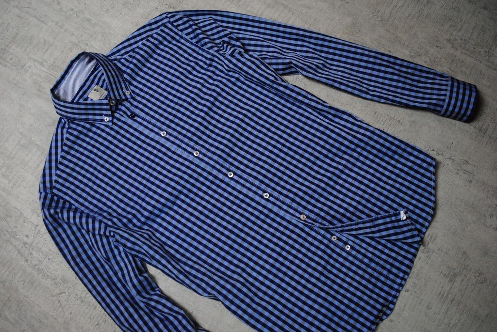 SEIDENSTICKER__SLIM__świetna koszula w kratkę__M_