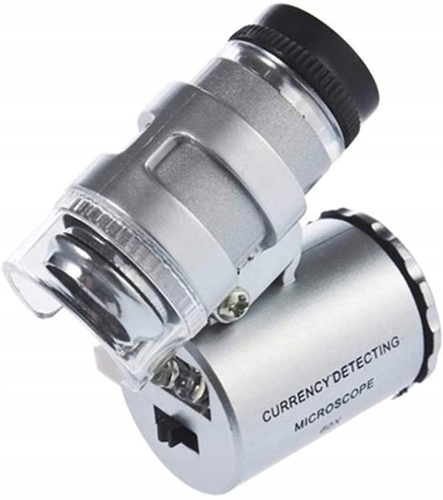 Mikroskop kieszonkowy Zoom 60X Lupa Kimilar /Q1