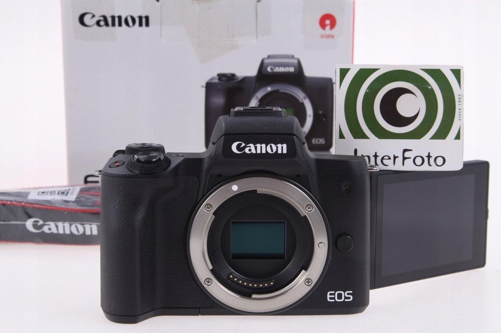 Canon EOS M50 body - nowy, InterFoto