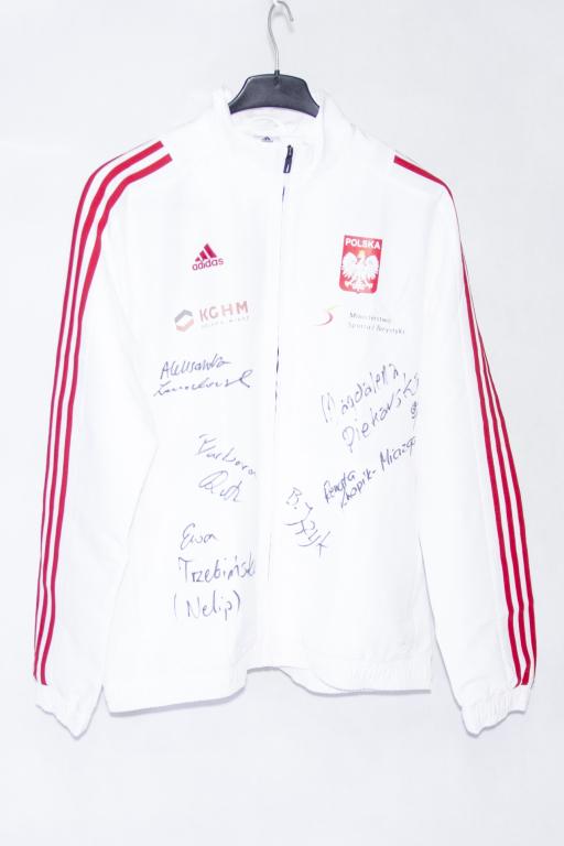 Dres Reprezentacji Polski Szpadzistek z autografam