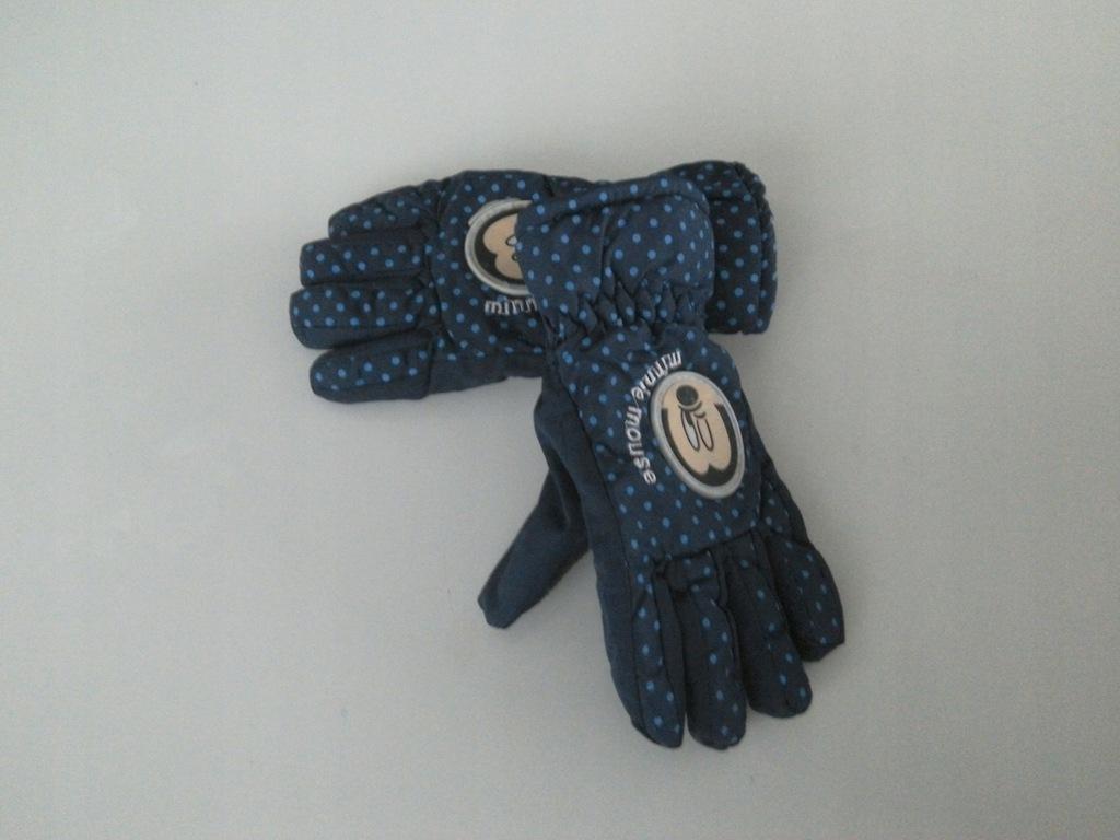 Minnie śliczne rękawiczki narciarskie r.ok 5-6lat
