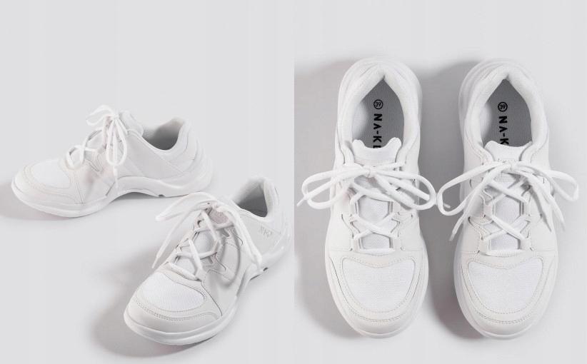 H9D013 SNEAKERSY SPORTOWE WHITE NA KD SHOES 40