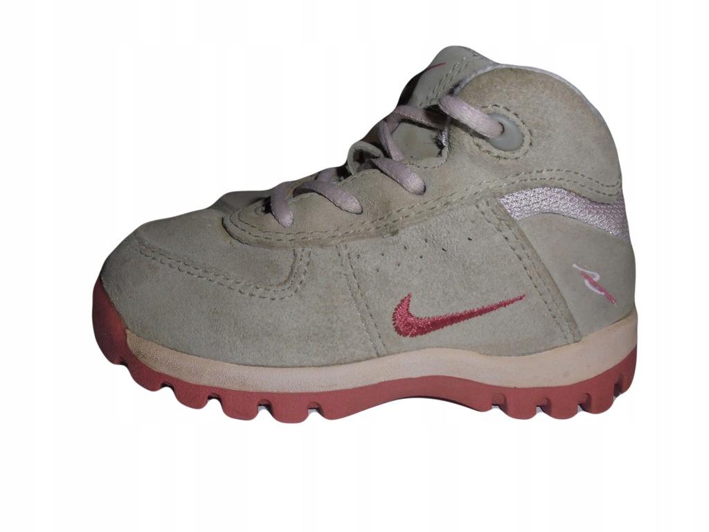 Buciki firmy Nike. Stan idealny. Rozmiar 23,5.