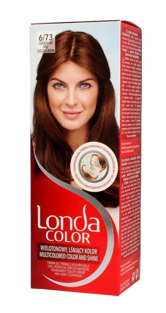 Londacolor Farba do włosów 6/73 czekoladowy brąz