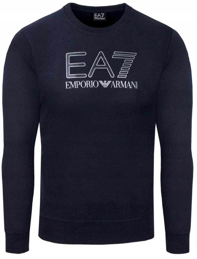 EA7 EMPORIO ARMANI granat bluza męska EA73 r.XL