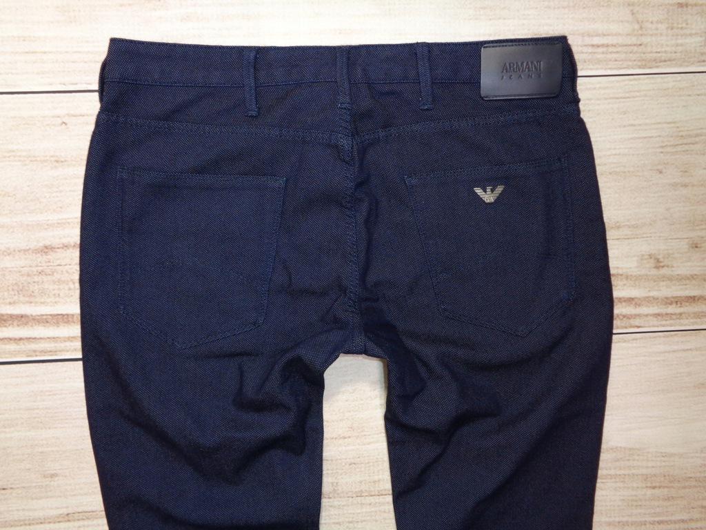 Spodnie ARMANI JEANS 33/34 W33 L34 wizytowe