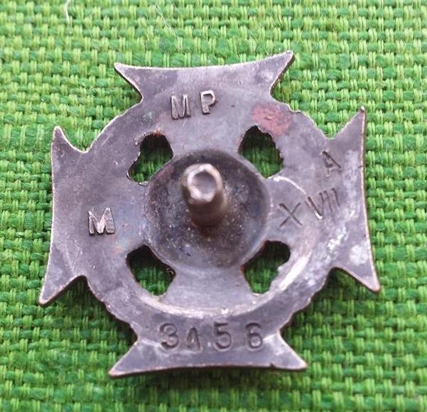 Krzyż ZHP numerowany menniczy 1957-1965