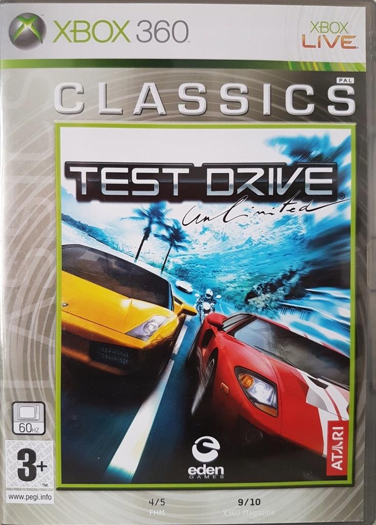 Test Drive Unlimited Xbox 360 Lodz 7645654970 Oficjalne Archiwum Allegro