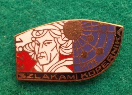 Odznaka-Szlakami Kopernika 1973r.