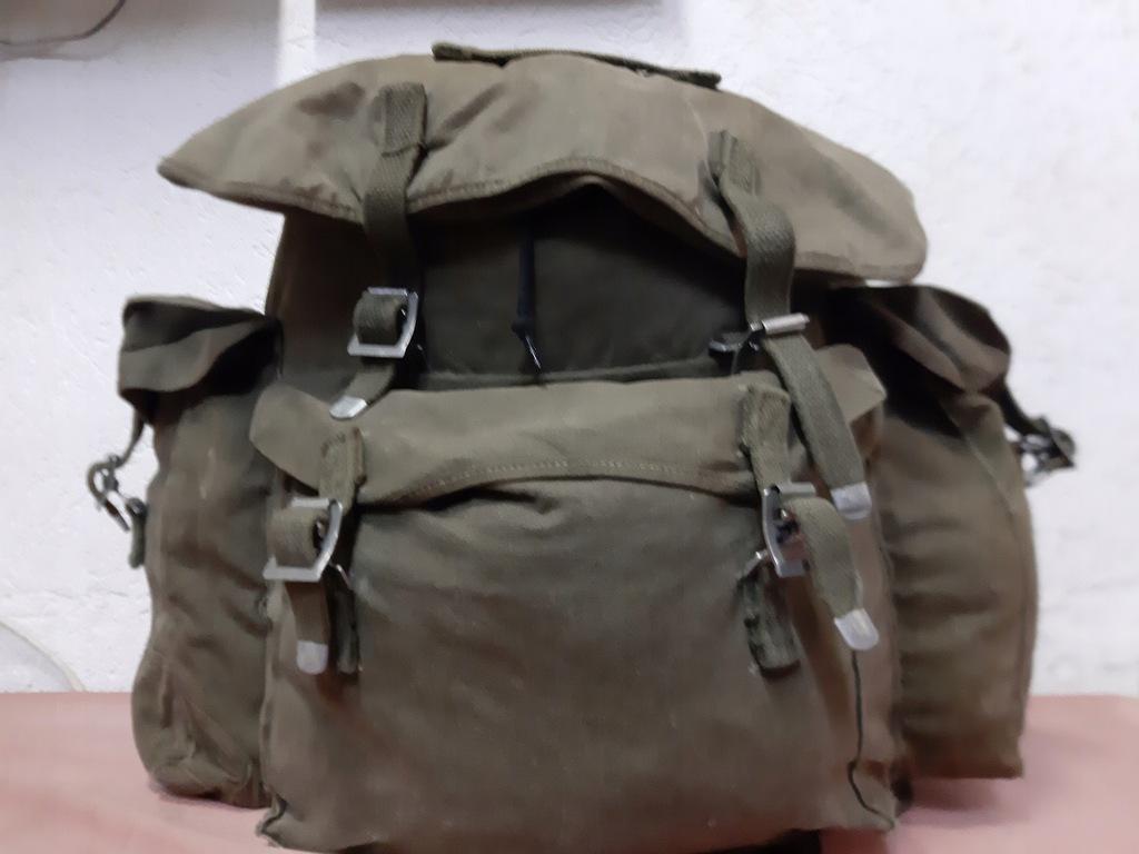 Plecaki wojskowe,plecak norweski ze stelażem