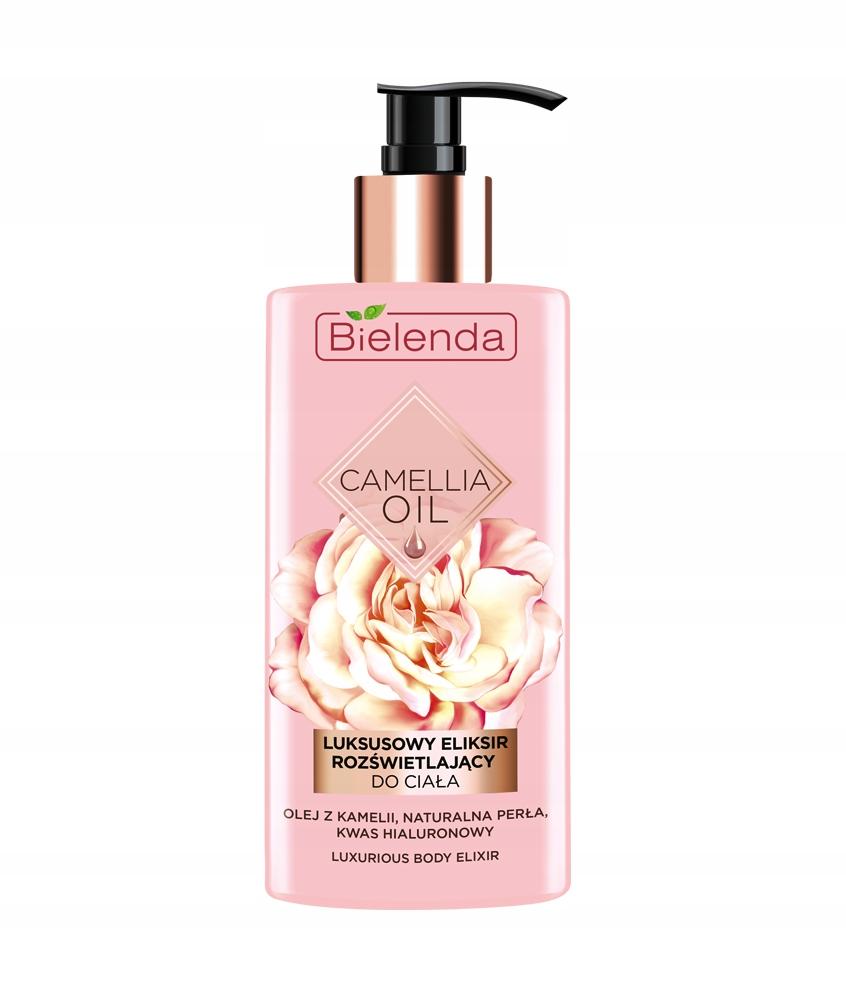 Camellia Oil luksusowy eliksir rozświetlający do c