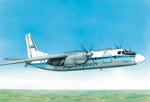 EE 28801 - 1/288 Antonov An-24B Russian short