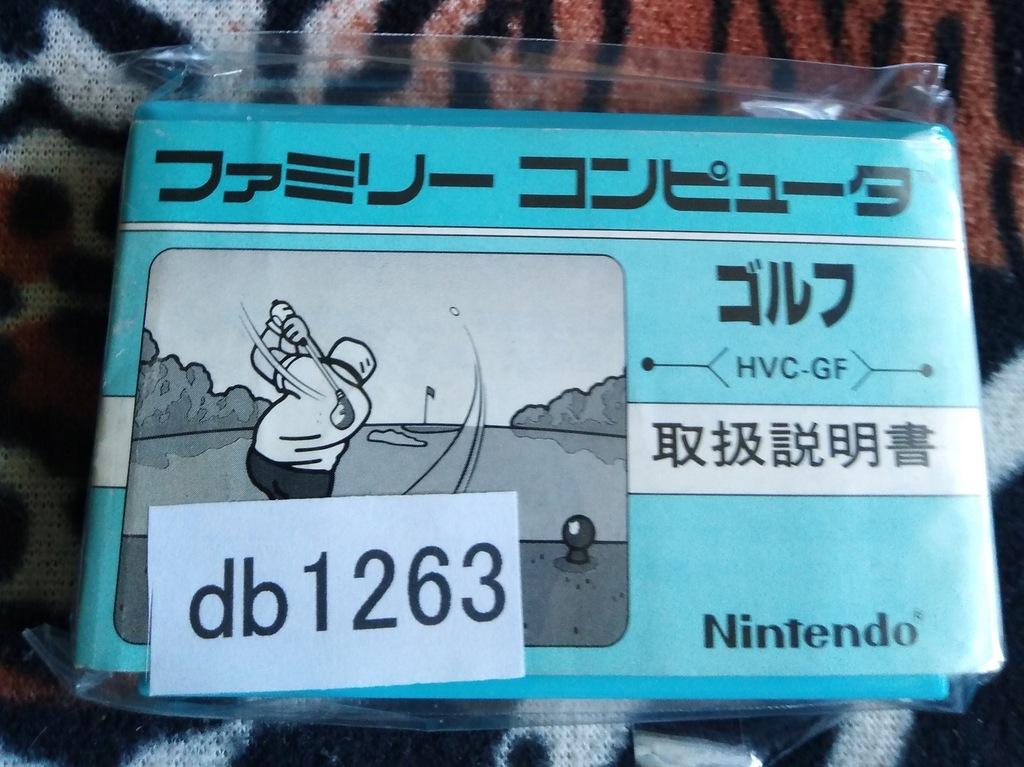 Kartridż (Cartrigde) Famicom - Golf