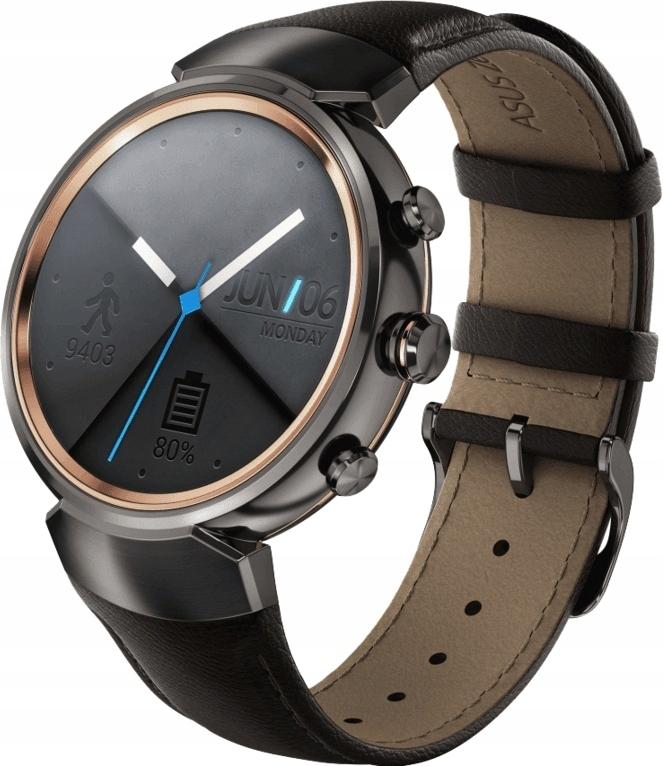 Zegarek Asus Zenwatch 3 (WI503Q) Amoled Dark Brown