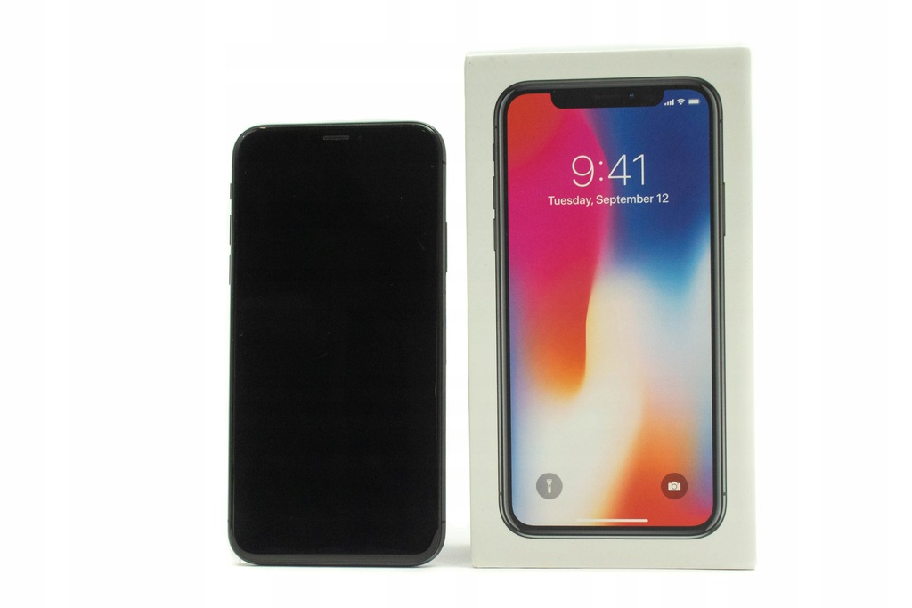 APPLE IPHONE X 64 GB STAN BDB SKLEP GWARANCJA