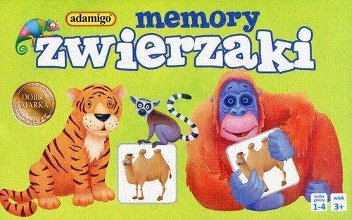 Gra Memory Zwierzaki