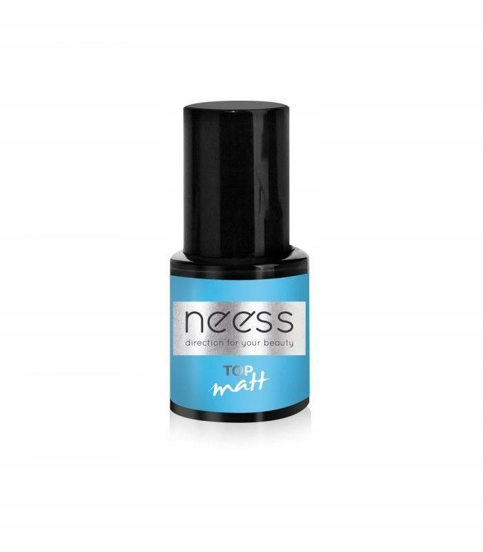 NEESS Top Matt na lakier hybrydowy - matowy efekt