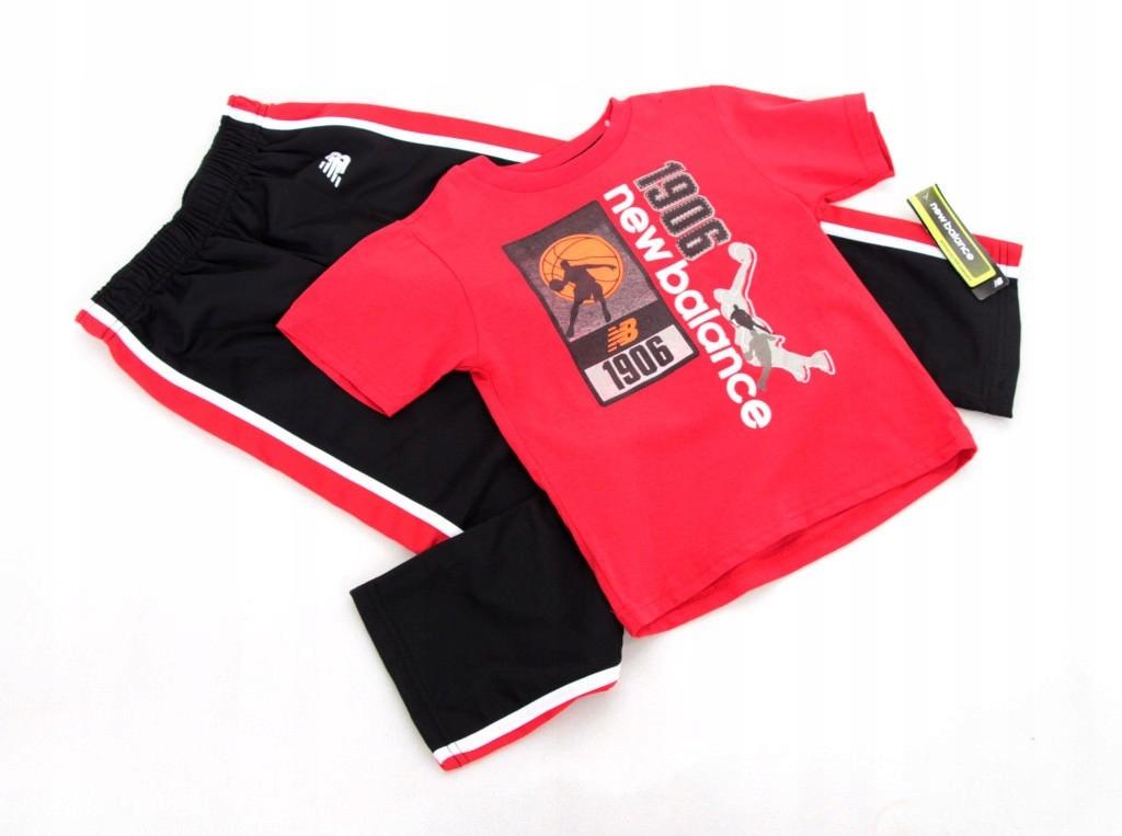 Komplet t-shirt spodnie NEW BALANCE 5/6 lat116 cm