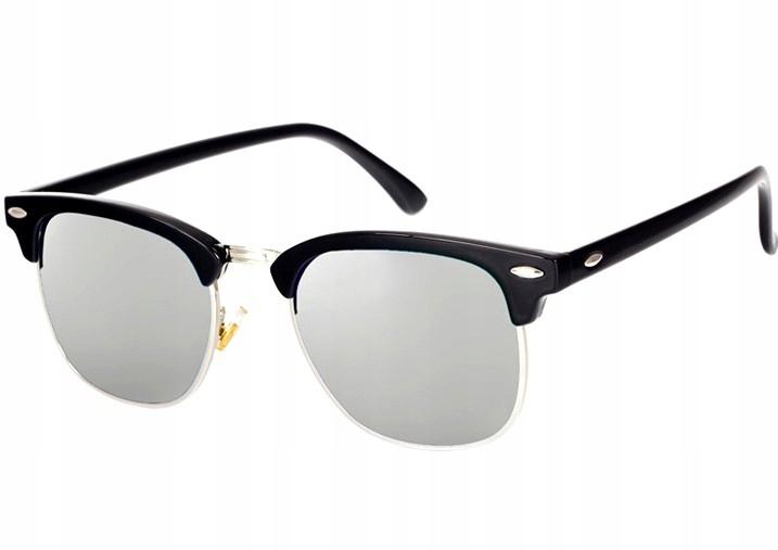 Okulary przeciwsłoneczne WAYFARER nerdy kujonki # BIAŁO