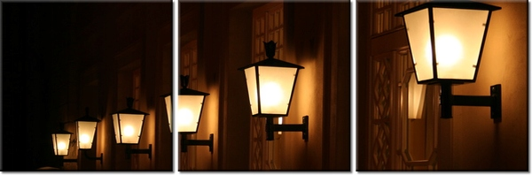 Lampy ścienne 150x50cm