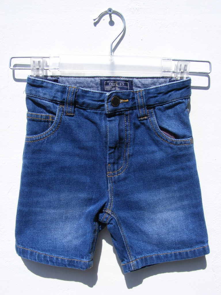 NEXT spodenki jeansowe z regulacją 104 cm