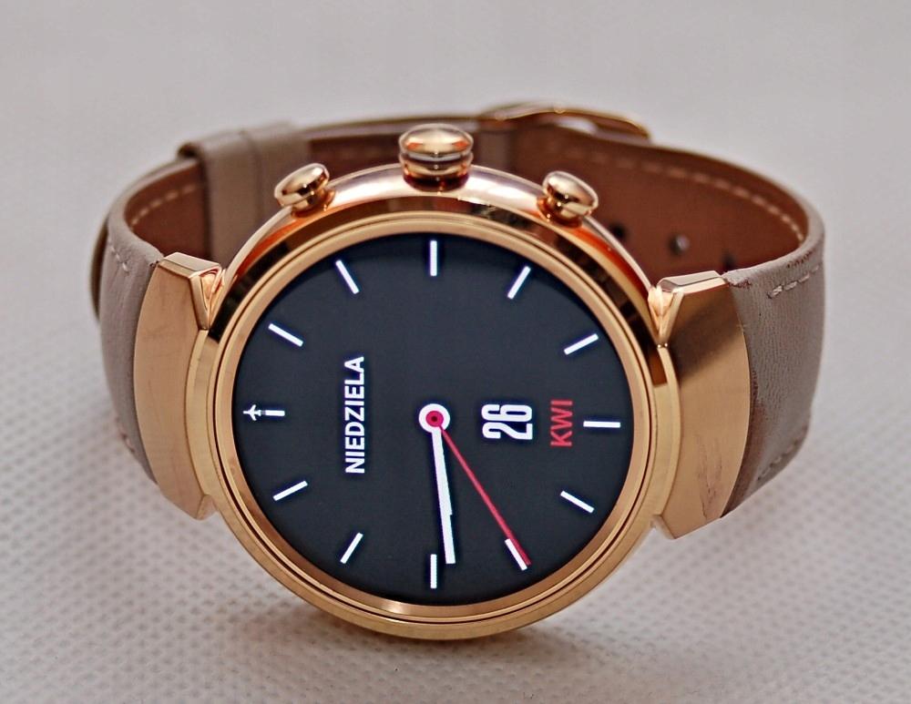 Smartwatch Asus Zenwatch 3, różowe złoto - gwar.