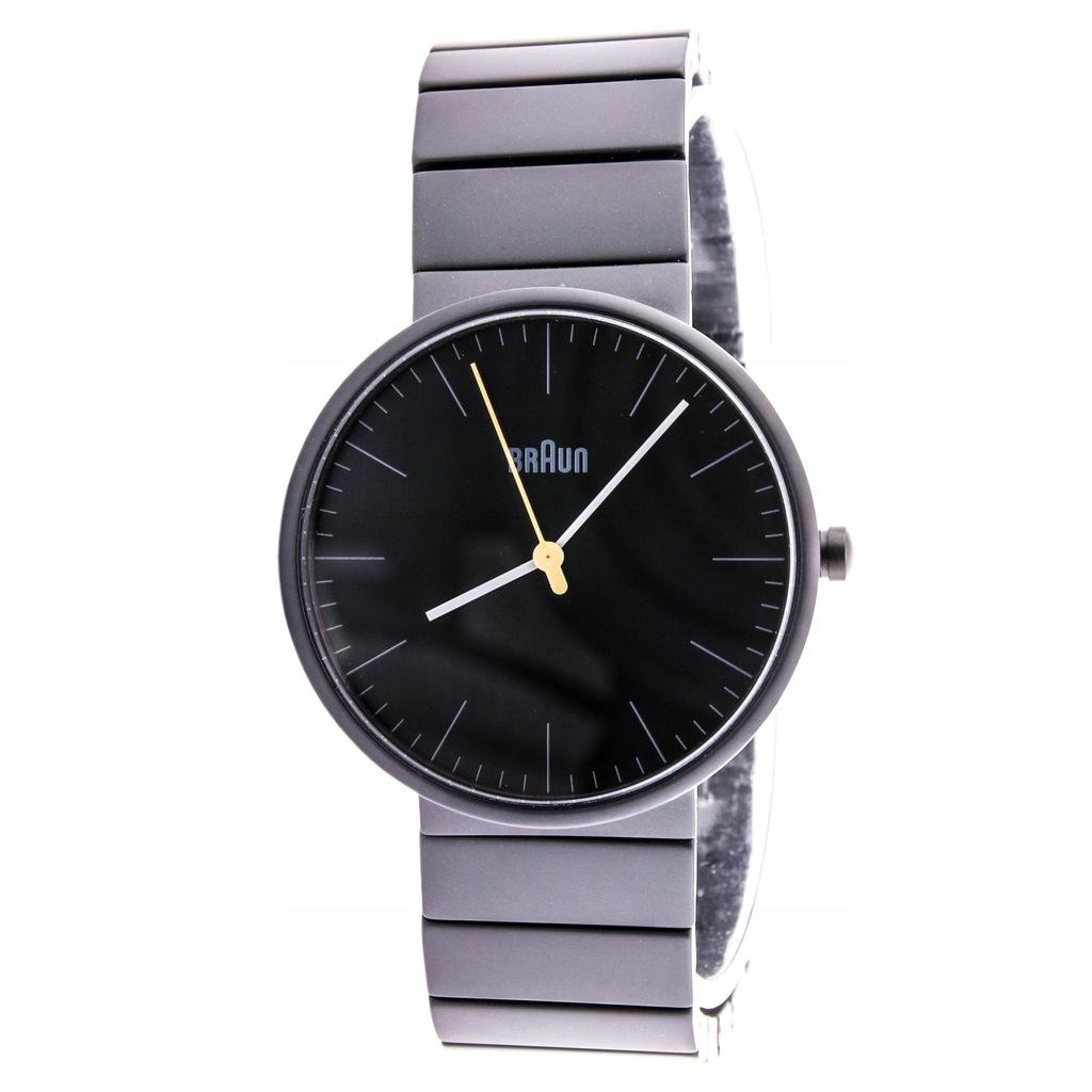 Zegarek BRAUN BN0171BKBKG unisex ceramika czarny