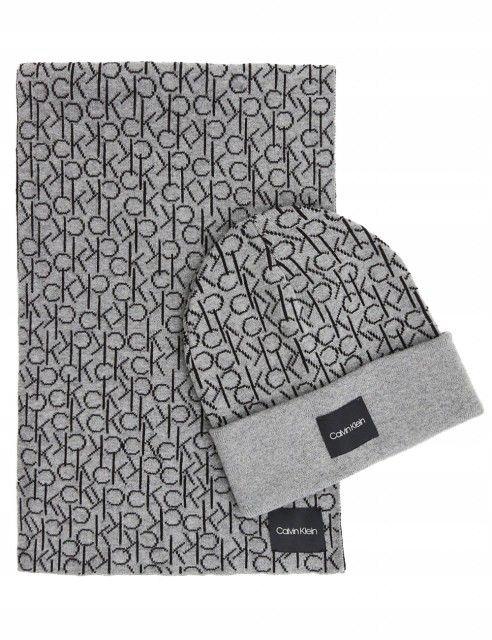 Zestaw szalik i czapka Calvin Klein K50K504136-013