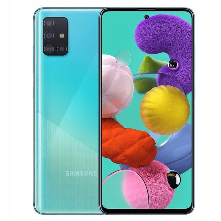Nieuzywany Samsung Galaxy A71 6 128gb Blue Gw 9071955760 Oficjalne Archiwum Allegro