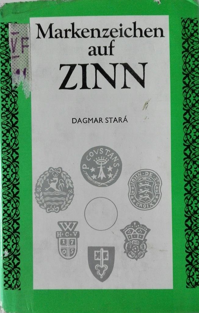Marken zeichen auf Zinn Dagmar Stara SPK