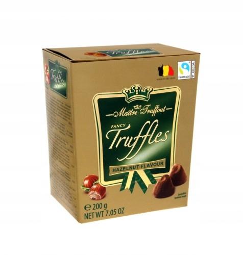 Trufle belgijskie czekoladowe Orzechowe 200g