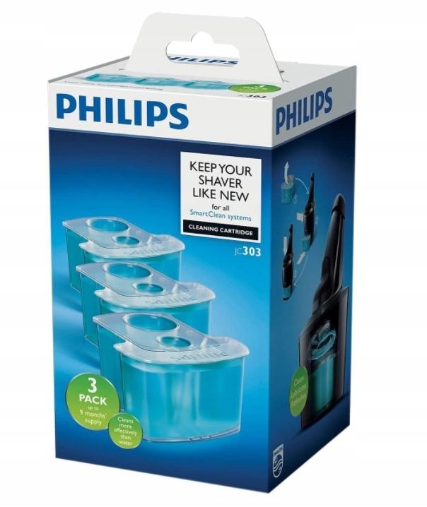 Philips, Wkład czysz. do golarki SmartClean, 3szt