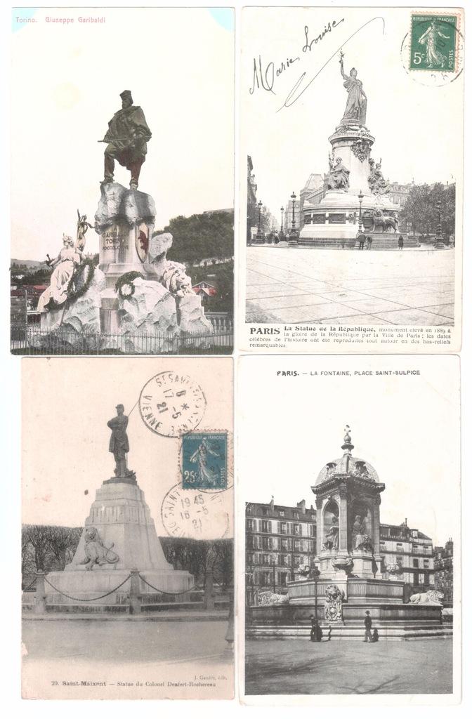 Stare pocztówki LEW (4 szt.) 4L26