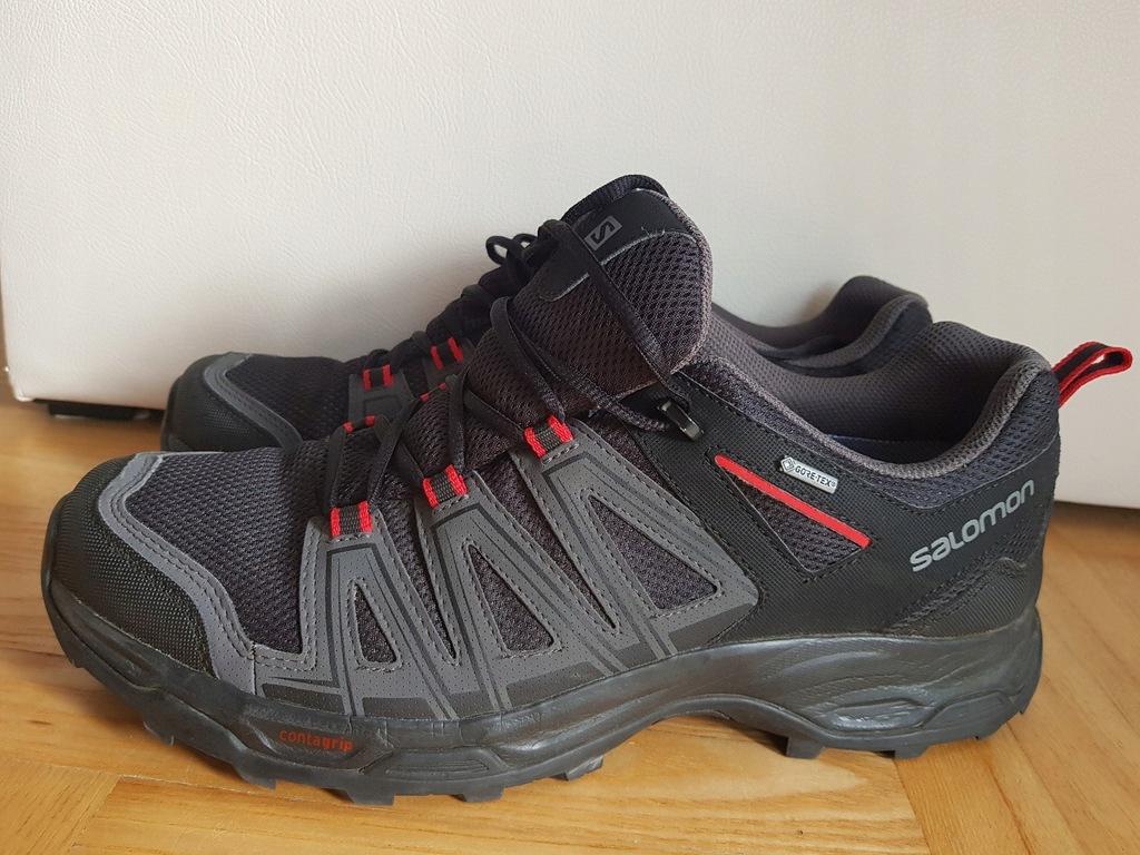 Salomon Vega Gore tex męskie buty trekkingowe 43 j Nowe