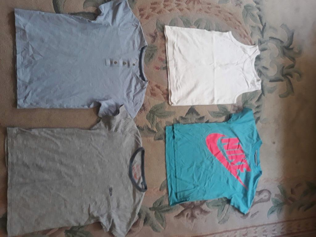 Koszulka spodenki bluza Hm reserved 134 i inne !