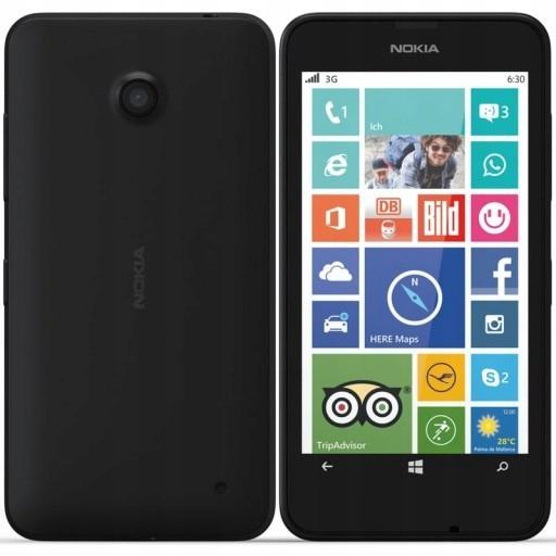 Ladna Pl Nokia Lumia 630 Czarna Bez Simlocka 9652295116 Oficjalne Archiwum Allegro
