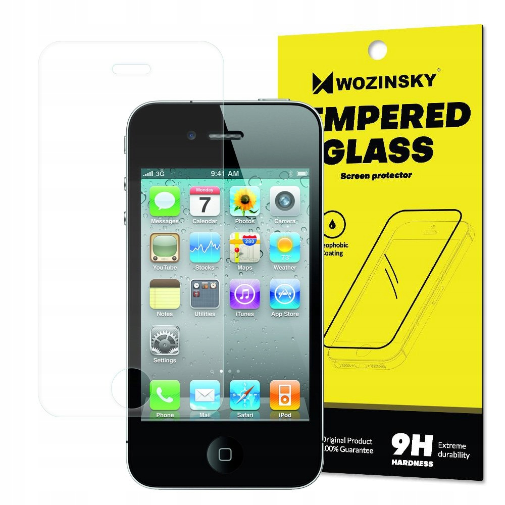 Wozinsky szkło hartowane 9H iPhone 4S / 4