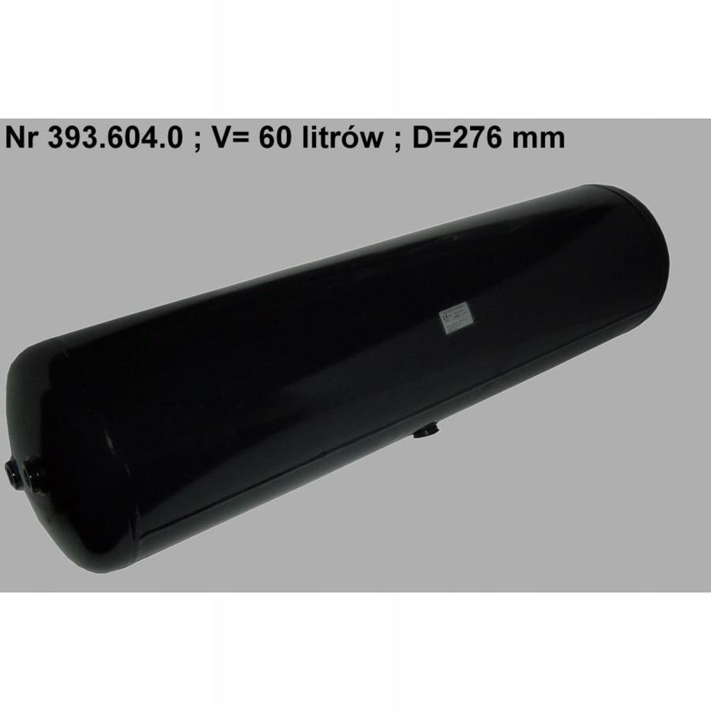 Zbiornik powietrza 276mmx1110mm 60dm/3 POLMO 393.6