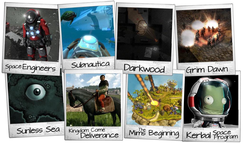 Zestaw 8 gier w early access (aktywacja Steam)