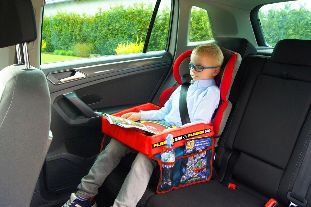 Stolik podróżny na fotelik samochodowy CARS - Auta