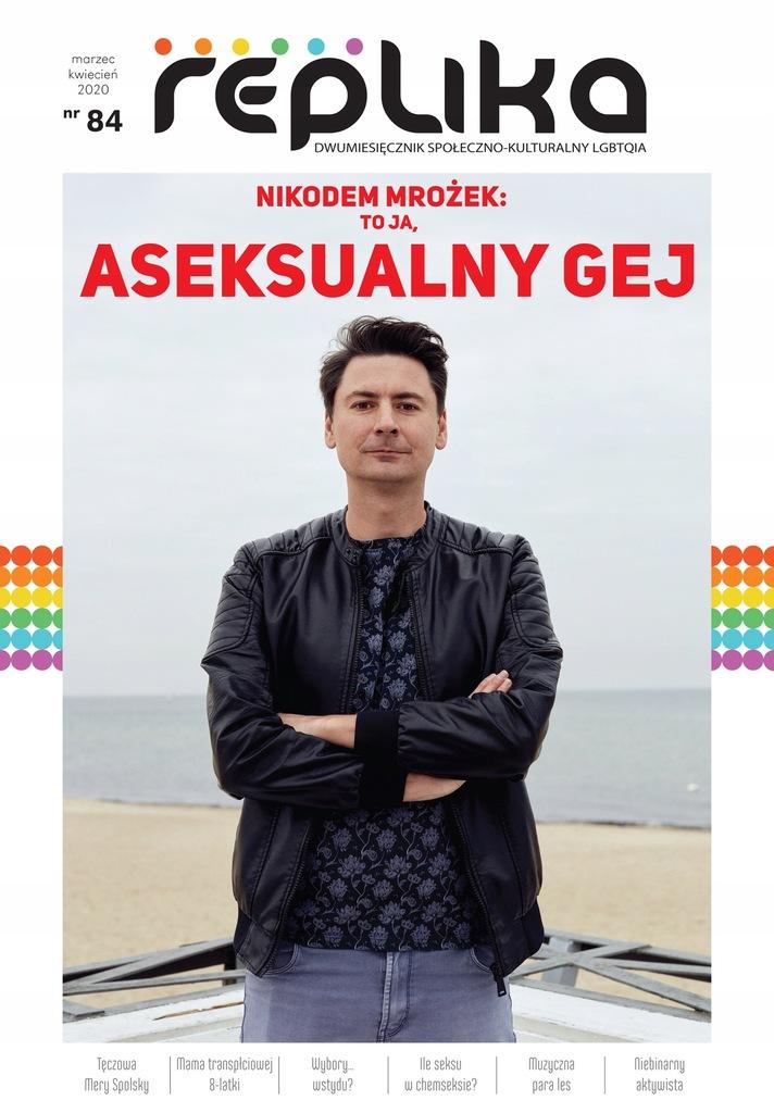 Replika nr 84 magazyn LGBT marzec/kwiecień 2020