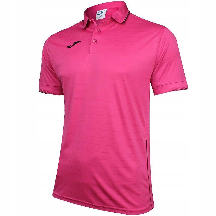 Koszulka polo Joma Torneo M różowy