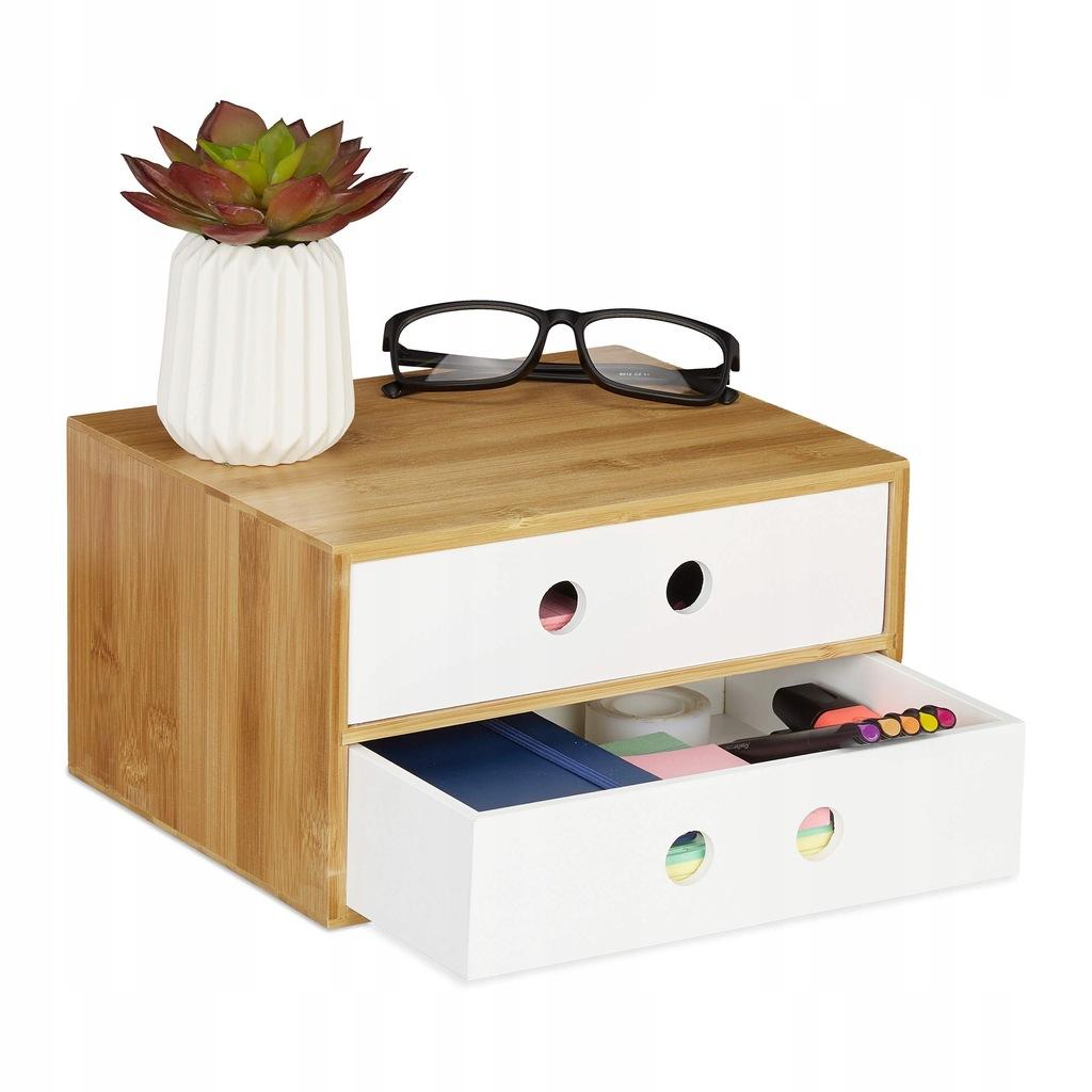Szufladka szkatułka Relaxdays Organizer