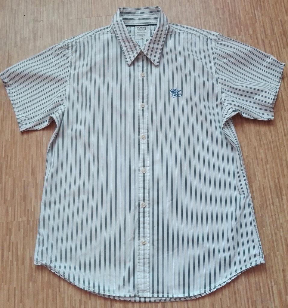 Koszula męska Tommy Hilfiger Denim kr.rękaw XL