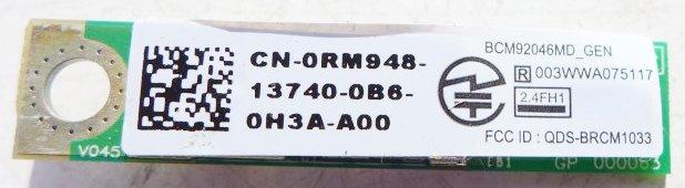 MODUŁ BLUETOOTH BCM92046MD DELL VOSTRO 3300 FV G19